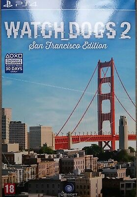 Watch Dogs 2 Special Limited Collector's San Francisco Edition PlayStation 4 PS4