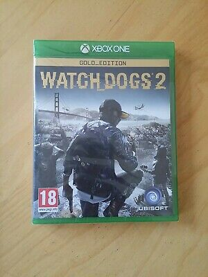 New Sealed Watch Dogs 2 Gold Edition Complete Game of the Year GOTY Xbox One