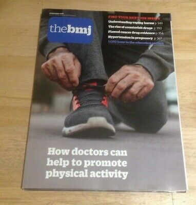 The BMJ 21st September 2019 How doctors can help to promote physical activity