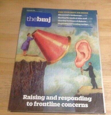 The BMJ 14th September 2019 Raising and responding to frontline concerns