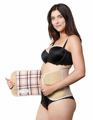 Belly Bandit® Couture Postpartum Abdominal Wrap-Nude Plaid, Large