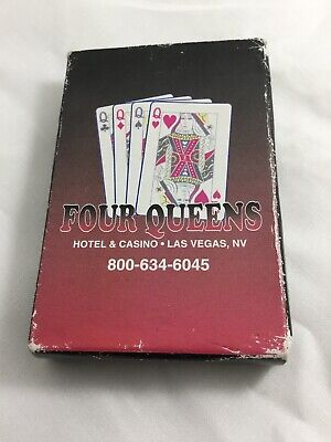 FOUR QUEENS Hotel And Casino Las Vegas NV Playing Cards