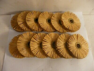"New Lot Of 12 Genuine Osborn 11183 3"" Od, 3.8"" Wide, 0.50"" Ah Tampico Wheels"