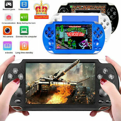 """PSP X9 8G New Handheld Game Console 5"""" Portable Video Game Player With Camera UK"""