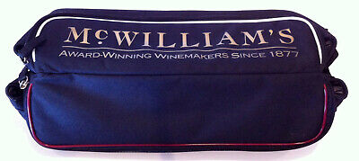McWilliams Wines Double Wine Bottle Cooler Carry Bag