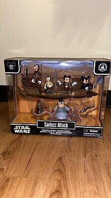Mickey Sarlacc Attack 2013 STAR WARS Star Tours DISNEY Parks Exclusive Pack