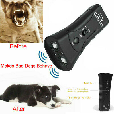 Anti Bark Control Dog Stop Barking Away Dog Training Repeller Device