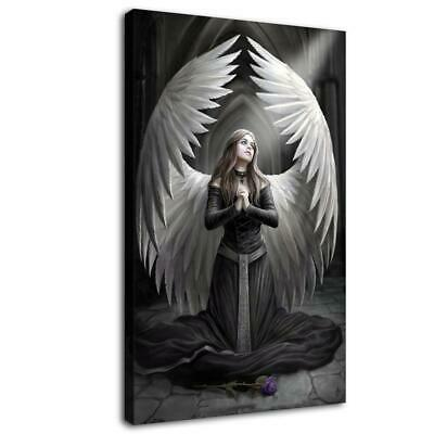"""16""""x26"""" Angel Wings HD Canvas prints Painting Home Decor Picture Room Wall art"""