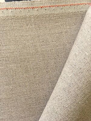 Natural Raw 40 count Zweigart Newcastle Linen even weave fabric 50 x 70 cm