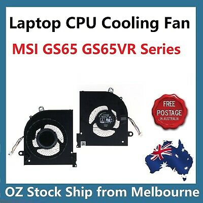 CPU Cooling Fan For MSI GS65 GS65VR Stealth Series MS-16Q2 16Q2-CPU-CW