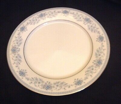Noritake Contemporary Fine China Blue Hill Dinner Plate 2482 Vintage Used Supper
