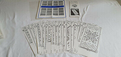 Empisal Knitmaster Handy Punch Patterns Set Number M1002