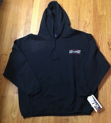 Vtg 90's Bum Equipment Hooded Sweatshirt Mens XL New With Defect #2