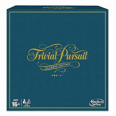 Hasbro Gaming Trivial Pursuit Game: Classic Edition (16yrs+) - NEW