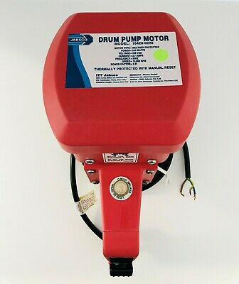 Jabsco Drum Pump Motor:  16420-0220