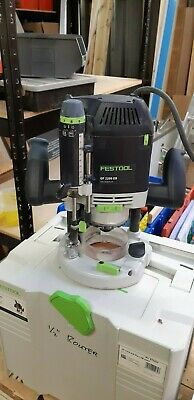 """Festool OF2200 1/2"""" Router 240V inc. Accesories set"""