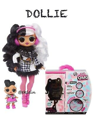 LOL Surprise OMG Winter Disco Fashion Doll *DOLLIE* & Sister
