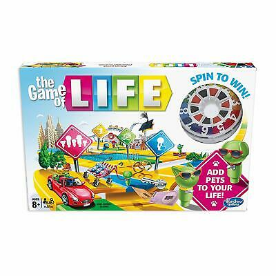 The Game of Life Board Game Hasbro (8+) - NEW