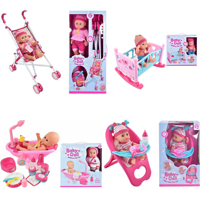 Baby Doll Collection Doll Accessory Playset Childrens Baby Toy