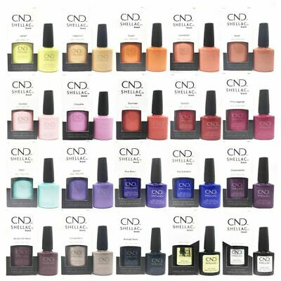 CND SHELLAC UV Gel, VINYLUX Nail Polish CLEARANCE Assorted Colours & Sizes