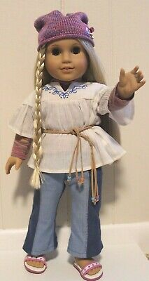 American Girl Doll Julie Albright in Original Meet Outfit Pleasant Company 18""