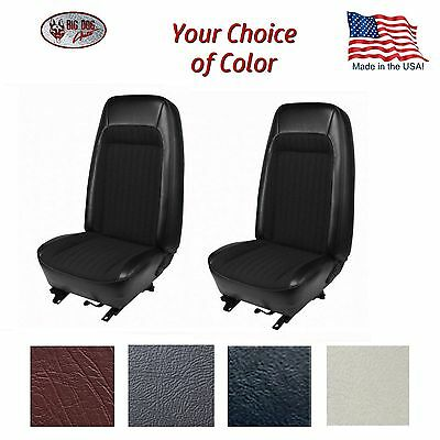 Front & Rear Bucket Seat Upholstery for 1979 - 80 Fox Body Mustang Coupe