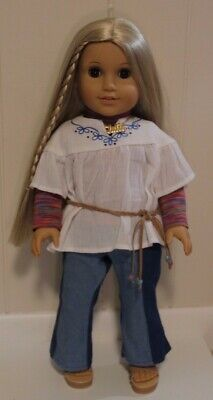 """American Girl Doll Julie Albright in Original Meet Outfit 18"""""""