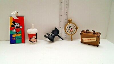 Disney Potato Head Lot WDW Parks Mr Mrs Mickey Mouse, Camera, Name Tag, Suitcase