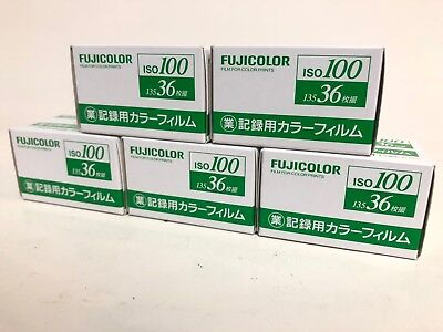<NEW 5ROLL> FujiFilm Fujicolor Industrial film ISO100 135-36 exp 35mm from Japan