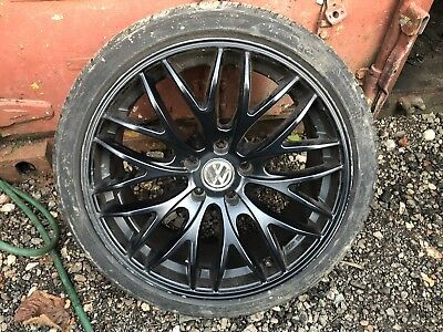 "Genuine Vw Audi Skoda Seat - 18"" Royal Alloy Wheel & Tyre - Kba 48254"