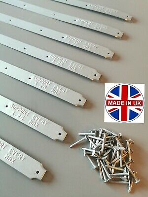 BRITISH MADE Scaffolding Board End Bands & Clout Nails BEST PRICE ON EBAY!