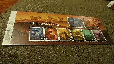 Christmas 2019 Gb Miniature Sheet With Barcode Xmas Stamps Royal Mail Umnh  2019