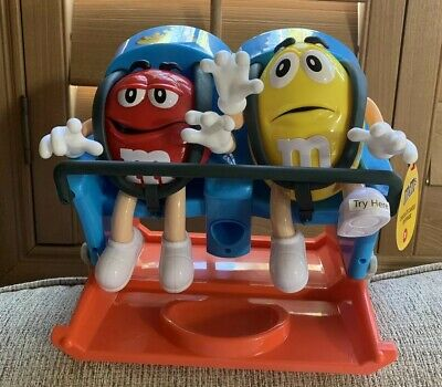 M&M's Roller Coaster Ride CANDY DISPENSER M&M Chocolate Holder Christmas Gift 🎁