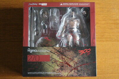 Max Factory Figma No.270 Leonidas 300 Movie King of Sparta Action Figure Japan