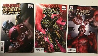 MARVEL ZOMBIES RESURRECTION 1 Variant 2019 Jung-geon Yoon 1C NM first 1st print