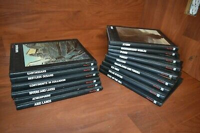 Time Life Books Planet Earth Set 15 Volumes Great Condition #42