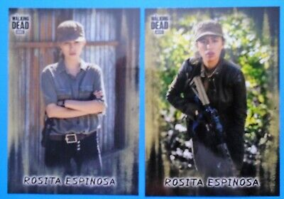 Topps The Walking Dead Hunters & Hunted Rosita Espinosa #12 Photo Variation Sp