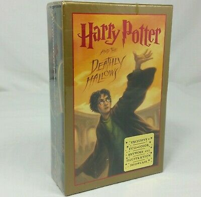 Harry Potter And The Deathly Hallows Special Edition Book New Slipcase Showcase