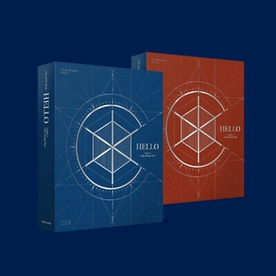 CIX HELLO CHAPTER 2. CD + PhotoCard + All PhotoBook + Poster(option)