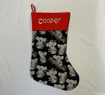 Childrens Unisex Christmas Stockings sew-ezy-australia