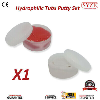 Orthodontics Dental Putty Impression Material Red and White Dentistry Teeth Tool