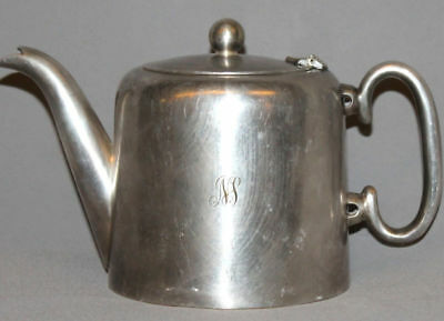 Vintage European Silver Plated Epns Cream Milk  Pitcher Jug