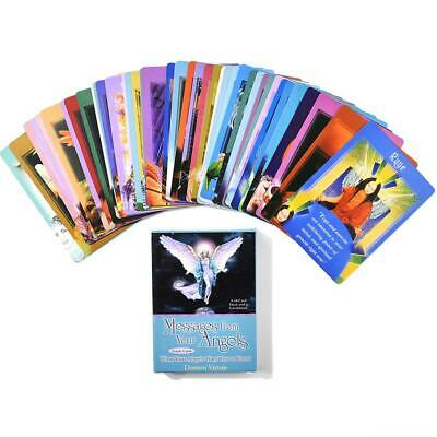 Messages From Your Angels: What Your Angels Oracle Cards , 44 Card Deck