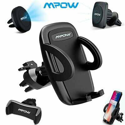 MPOW Car Magnetic Phone Holder Universal Air Vent Cradle Stand Mount 360 Degree