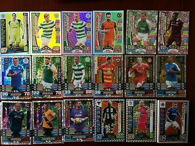 Match Attax Spfl 2015/16 -2016/17-2017/18 Limited/Hattrick/Man Of The Match