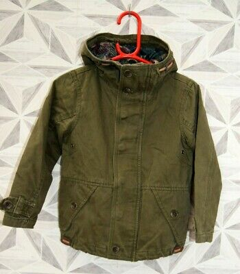 Next Girls  Khaki Hooded Coat Age 3 Years     K7