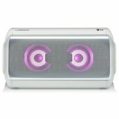 LG PK7 XBOOM Go IPX5 40W Portable Bluetooth Speaker in White**FREE DELIVERY**