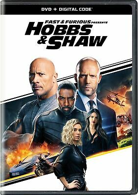 Fast and Furious Presents Hobbs And Shaw F9 DVD New Movie 2019 Free Shipping NEW