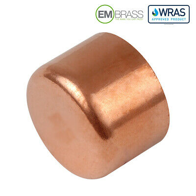 End Feed Full Crossover to Solder Copper Both Ends Socketed WRAS Approved
