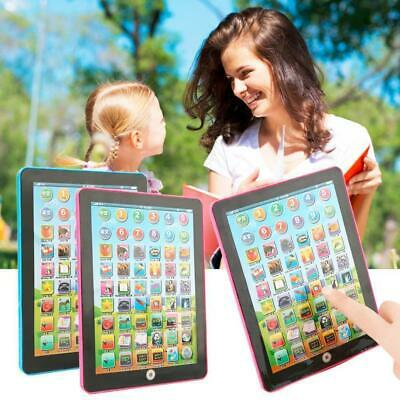 Baby Toddler Kids Learning Pad Tablet Educational Toys Boys Girls Christmas Gift
